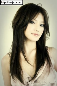 Asian Hairstyles Long Asian Hairstyles For Round Faces  All About Hair  Pinterest