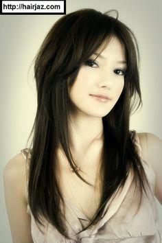 Hairstyles For Long Hair Asian : Long Asian Hairstyles on Pinterest Asian Hairstyles, Hairstyles ...