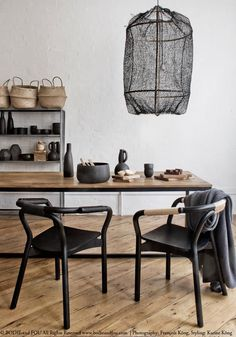 DECORATING WITH BLACK PENDANT LIGHTS (via Bloglovin.com )