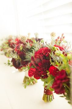A Rustic Elegant Red
