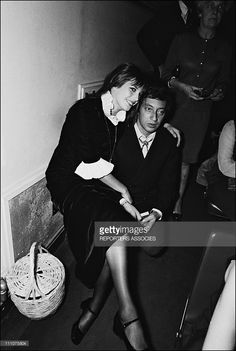 Serge Gainsbourg, Jane Birkin, in Paris, France on September 27th, 1969.