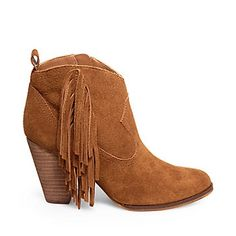 """Loving everything about the """"OHIO"""" bootie! Perfect for fall and it is named after one of my favorite states! O-H-I-O! Get yours at stevemadden.com"""