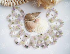 6x10mm Mixed stones set: rose quartz citrine от CreativeRoomKartA