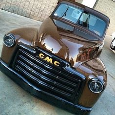 old pickup trucks Gmc Trucks, 54 Chevy Truck, Old Pickup Trucks, Classic Chevy Trucks, Hot Rod Trucks, Chevrolet Trucks, Cool Trucks, Classic Cars, Classic Gmc