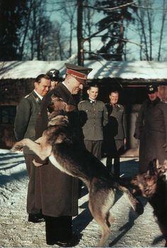 20 Vintage Photographs of Adolf Hitler and His Beloved Dog Blondi ~ vintage everyday