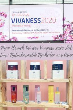 Teils Eins meines Berichtes über die Vivaness 2020 ist nun online, mit allen Naturkosmetik Neuheiten aus Asien!