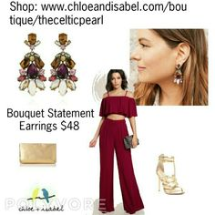 Today's Featured Product: Bouquet Statement Earrings  $48 Shop: https://www.chloeandisabel.com/boutique/thecelticpearl/products/E290BE/bouquet-statement-earrings                                                                                                                                                                             #Summer #love #daily #Featured #product #Earrings #Bouquet #tigereye #pink #jade #crystals #sparkle  #jewelry #fashion #accessories #style #shopping…