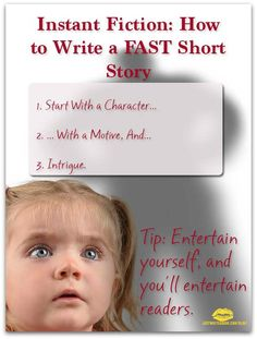 How to write a fiction short story
