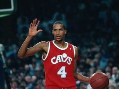 b10ed5f8d Ron Harper when he played for the Cleveland Cavaliers. Basketball Tumblr