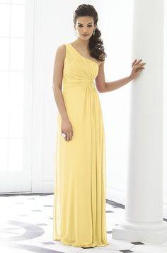David's bridal chiffon canary bridesmaid dresses | visit amazon ...