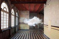 Berndnaut Smilde, indoor clouds art, art, art installation cloud, frozen smoke installation, Dutch artists, Time Magazine
