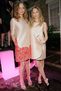 : Photo Cameron Diaz, Kate Bosworth, and Naomi Watts pose for photographs as they attend the Stella McCartney Spring 2014 Collection Presentation held at West Street… Blush Dresses, Nice Dresses, Stella Mccartney, Paul Mccartney, Kate Bosworth Style, Beautiful Outfits, Beautiful Clothes, Fashion Outfits, Womens Fashion