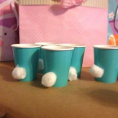 So we are one week away from the 6 month long anticipated Peter Rabbit themed birthday party for Lucas. I found some other inspiration pictures which would make great party food/accessories and wanted to share them with you.These cups!! So simple but so, so effective and cute! Source: unknown via Pinterest How cute is this idea?!…