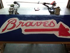 1000 Images About My Projects On Pinterest Braves Baseball Jewelry Hanger And String Art