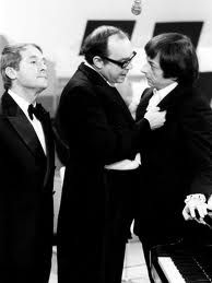 "Morecambe and Wise with Andre Previn:"" I'm playing all the right notes, but not necessarily in the right order! British Comedy, British History, English Comedy, Asian History, Tudor History, 1970s Childhood, My Childhood Memories, Comedy Tv, Comedy Show"