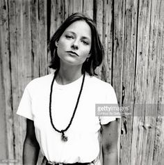 Actress Jodie Foster is photographed for Studio Magazine on July 16 1995 in Hollywood California
