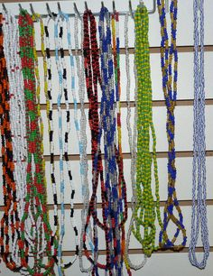 Eleckes Santo Beads Collares de Santo Saint Orisha Prayer Beads Religious Beads Rosaries Santeria on Etsy, $5.95