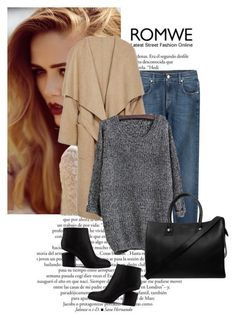 """""""Romwe contest"""" by erminm ❤ liked on Polyvore featuring moda, 7 For All Mankind, Paul & Joe, Alexander Wang e romwe"""