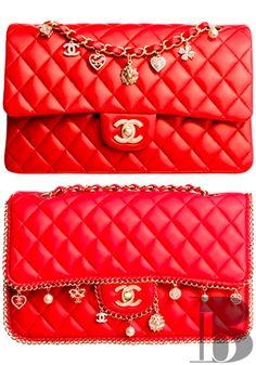 #Chanel #red #handbag - http://pinterest.com/judithburzell/ -stunning!