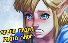 Link Zelda Breath of the Wild - Speed Paint - PhotoShop