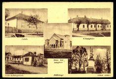 Böhönye Iskola. Községháza. Római katolikus templom. Kiss dohányáruda. Hősök szobra