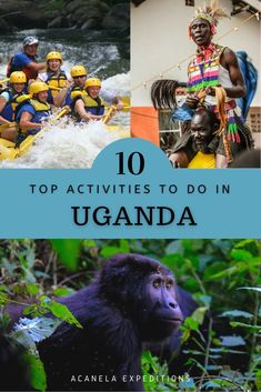 "This luscious country; it's known as the ""Pearl of Africa"" because of its vibrant scenery, endangered species, and lovely culture. It's beautiful weather and lively people help you to view the world through a happier lens. Uganda provides some of the most extravagant wonders of the world that will create the most unique memories you will never forget. Here are the top ten best activities to do while adventuring in Uganda."