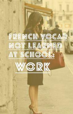 french-vocab-work