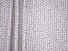 Fryetts Spotty Grey 100% Cotton Curtain Fabric - The Millshop Online
