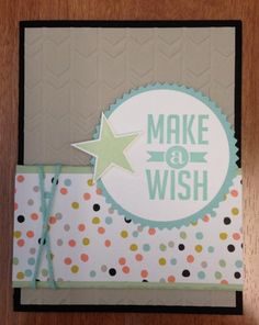 Make a Wish by jsassy72 - Cards and Paper Crafts at Splitcoaststampers