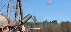 """AR-15 soda can launcher delivers a """"Coke and a Smile""""…but it's not for sale quite yet."""