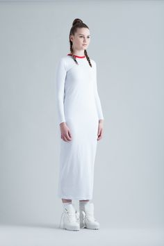 Tube Maxi Dress via Edward Stothers. Click on the image to see more!