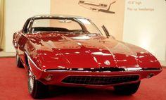 1963 Ford Cougar II at Chicago Auto Show