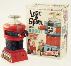 Lost in Space Robot // My brother had one of these!