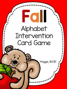 September is passing quickly! Learning the Alphabet - Maggie's Kinder Corner