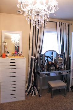 TiffanyD: Updated Closet and Makeup/Filming Area Tour!