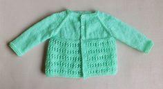 Ravelry: Jasmine Baby Jacket pattern by marianna mel