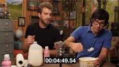 Rhett & Link GIFS OH MY GOSH I LOVED WHEN THIS HAPPENED