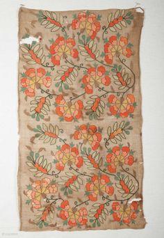 Ottoman Turkish Embroidery 40 x 72 cm / 15.7'' x 28.3''******