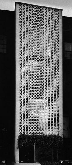 Edward Durell Stone, Town House, New York, New York, 1956