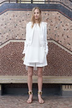 Chloé Resort 2014 Fashion Show - Elisabeth Erm