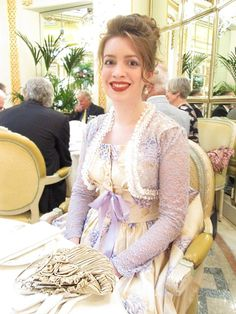 Outfit for tea at the ritz