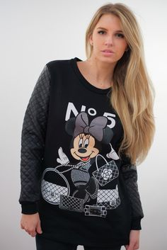 Minnie Mouse Bags   Labels Sweatshirt This would be a really cute lounge  sweatshirt. f9e4cc5a17aa4
