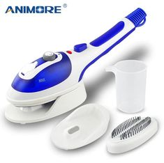 Portable Steam Iron,Anyasun Mini Multi-function Handheld Fabric Steamer For Clothes Fast Heat-up Powerful Household Garment Steamer Iron Brush with Ceramic Soleplate,Perfect for Home &Travel Joanna Gaines, Best Garment Steamer, Christmas Friends, Christmas Ideas, Christmas Sale, Ferro A Vapor, Iron Steamer, Fabric Steamer, Clean Sofa