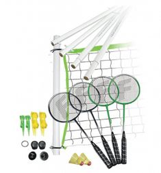 There's no better way to spend family time than with some badminton in the backyard. Shop Franklin's selection of badminton sets, nets, and rackets. Best Badminton Racket, Badminton Games, Badminton Court, Tennis Racket, Badminton Logo, Racquet Sports, Volleyball Set, Fun Outdoor Games, Outdoor Toys