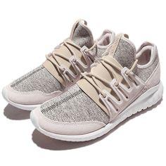 297ca815a50b1 adidas Originals Tubular Radial Brown White Men Running Shoes Sneakers  CQ1409