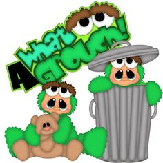 What a Grouch - Treasure Box Designs Patterns & Cutting Files (SVG,WPC,GSD,DXF,AI,JPEG)