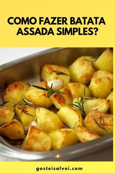 Easy Cooking, Potato Salad, Food And Drink, Low Carb, Potatoes, Tasty, Vegetables, Health, Ethnic Recipes