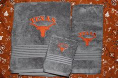 Hey, I found this really awesome Etsy listing at https://www.etsy.com/listing/178663827/12pc-embroidered-towel-set-texas