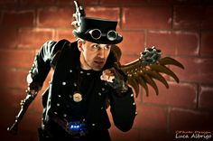 Steampunk Costumes For Men | Posted in: Cosplay , Engineering - Tags: Davide Bosi , Photography