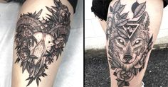 Beautiful Detailed Black Tattoos by Kyle Stacher, tattooer from Vancouver, Washington.